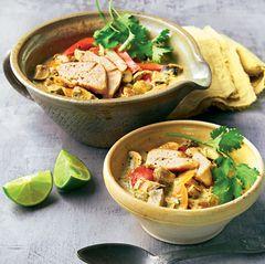 Asia-Curry mit Hähnchenbrust