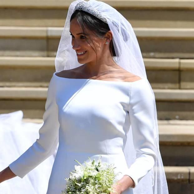 Meghan Markle und Prinz Harry bei ihrer Hochzeit