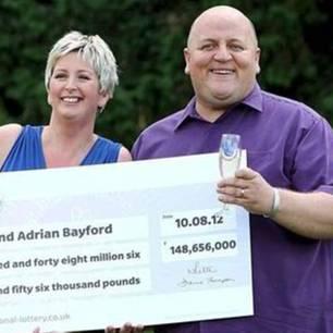 Gillian und Adrian Brayford gewinnen 187 Millionen im Lotto