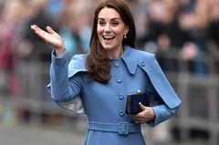 Kate & Meghan auf dem Balkon des Buckingham Palastes