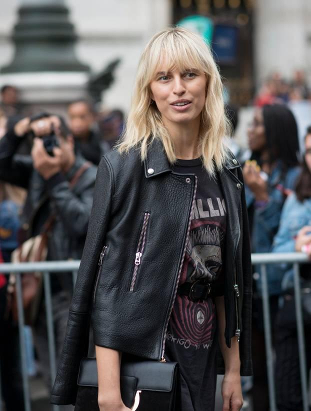 Frisuren: Frau mit French Cut