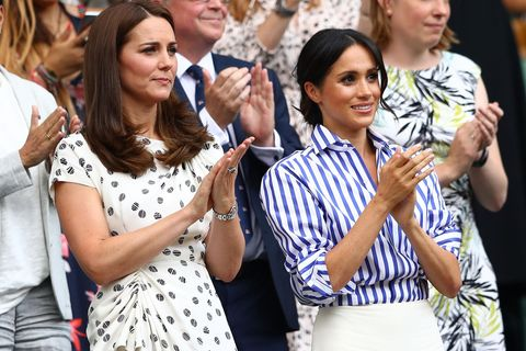 Kate & Meghan in Wimbledon