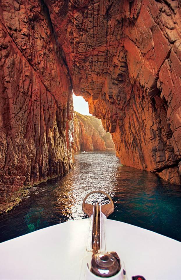Wandern auf Korsika: die Calanques