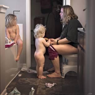Mama sein: Klo