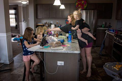 Mama sein: Küche