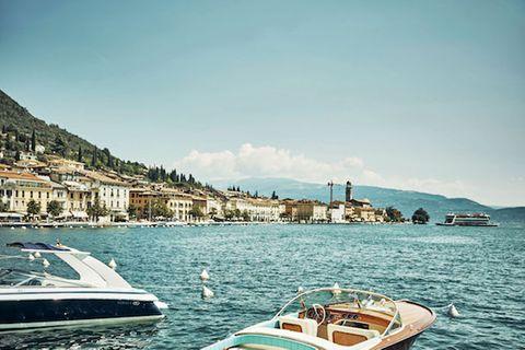 Gardasee: Boote auf dem Gardasee