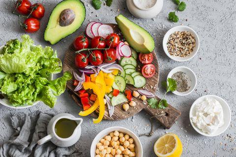Volumetrics-Diät: Gesunde Lebensmittel
