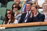 Royals: William und Kate beim Tennis