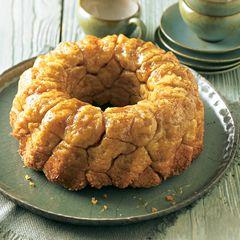 Monkey Bread (zuckriger Hefekuchen)