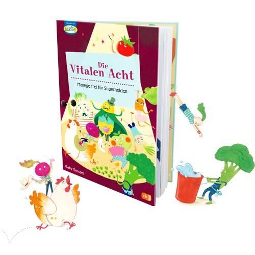 Kinderbuch die Vitalen Acht
