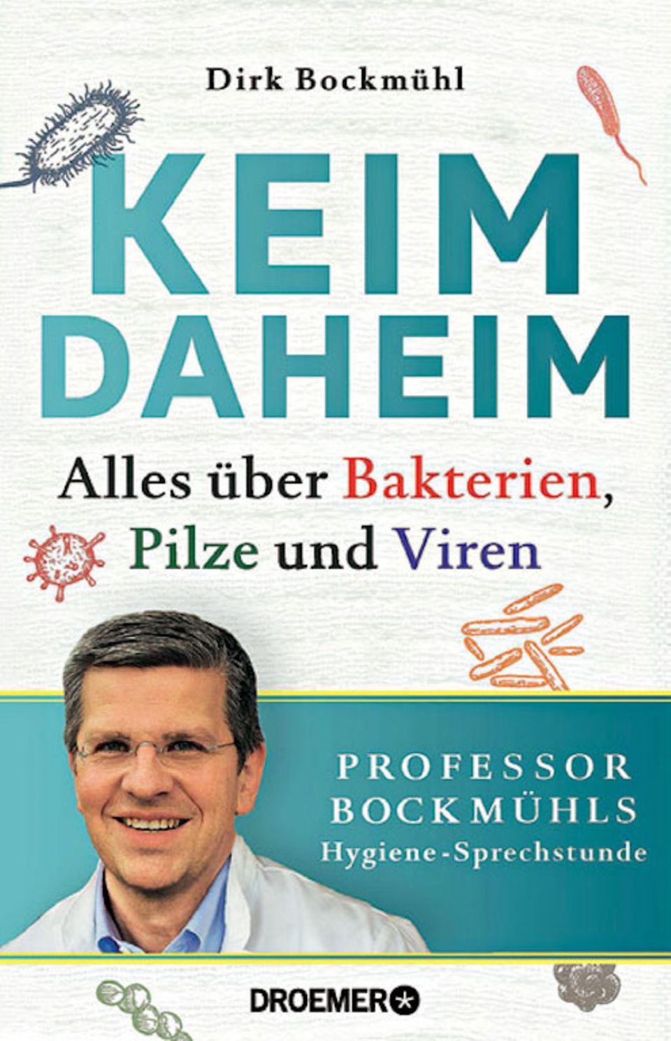 "Übertriebene Hygiene: Buchcover ""Keim Daheim"""