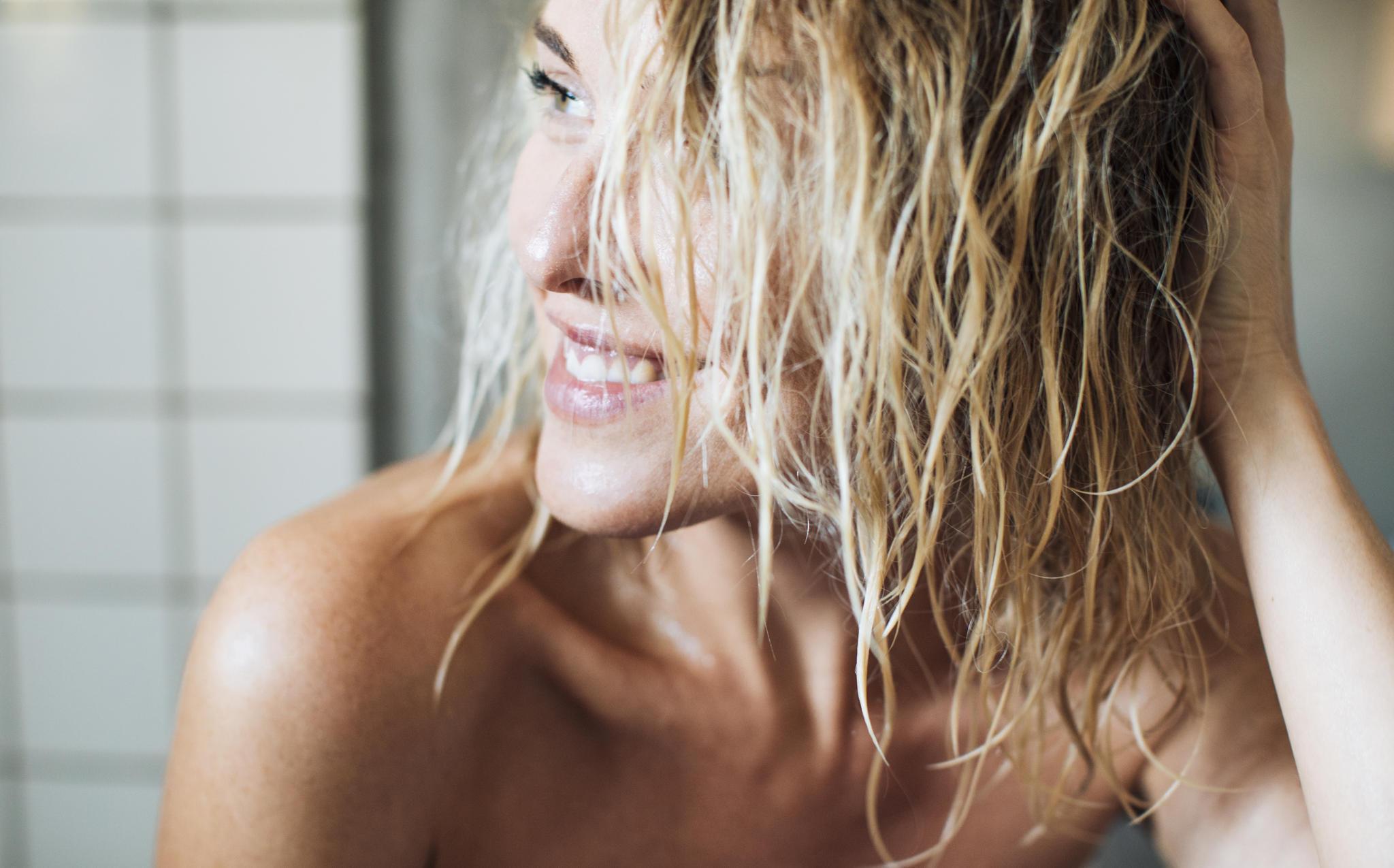 Haarkur über Nacht So Funktionierts Richtig Brigittede