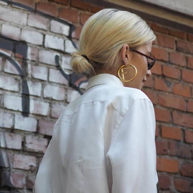 Herbst-Trendfrisur: Caro Daur mit Low Bun