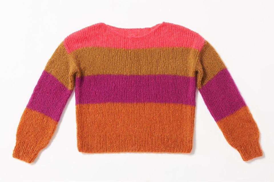 Color-Block-Pullover