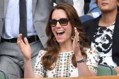 Herzogin Catherine mit Sonnenbrille