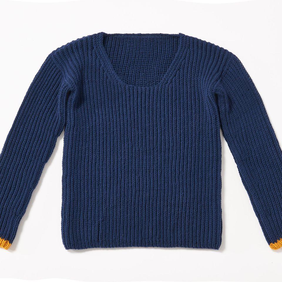 Halbpatent-Pullover