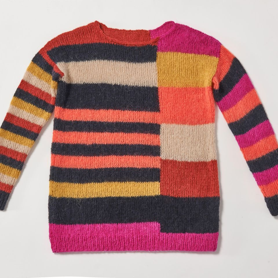 Colorblocking-Pullover