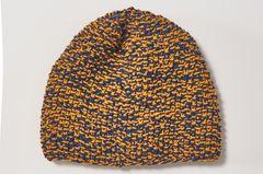 Perlmuster-Mütze