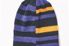 Streifen-Mütze