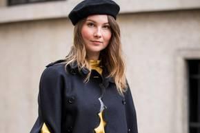 Cape: Frai bei der Fashion Week in Paris