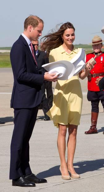 LK Bennet bringt Kate zum Strahlen