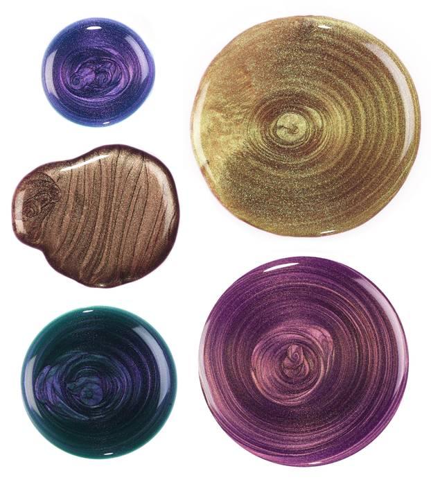 Nagellack-Farben: Metallic-Nagellack