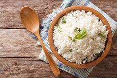Reisdiät: Reis in ener Holzschale