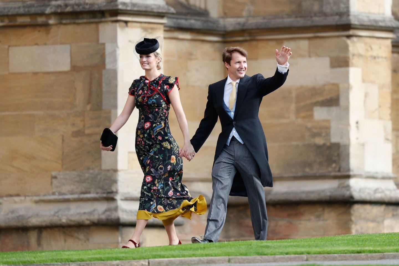 Prinzessin Eugenie heiratet: James Blunt und Ehefrau Sofia Wellesley