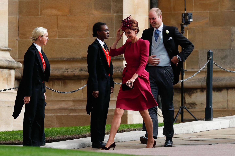 Prinzessin Eugenie heiratet: Herzogin Kate und Prinz William