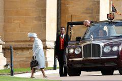 Prinzessin Eugenie heiratet: Queen Elizabeth und Prinz Philip