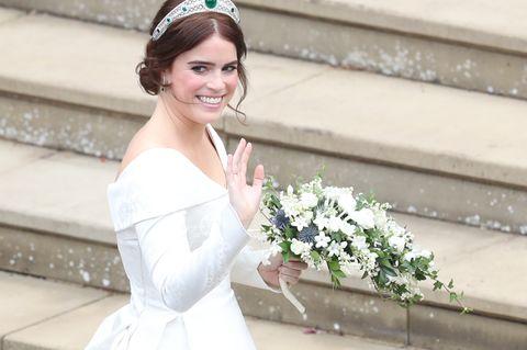 """Prinzessin Eugenies bewegende Botschaft: """"Mein Brautkleid sollte meine Narbe zeigen"""""""