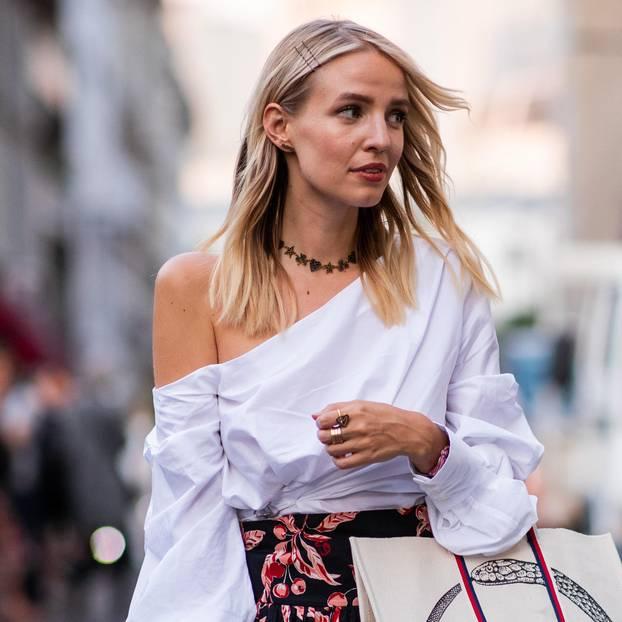 Haarspangen-Trend: Leonie Hanne