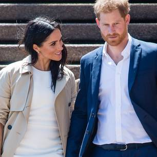 Meghan Markle und Prinz Harry in Australien