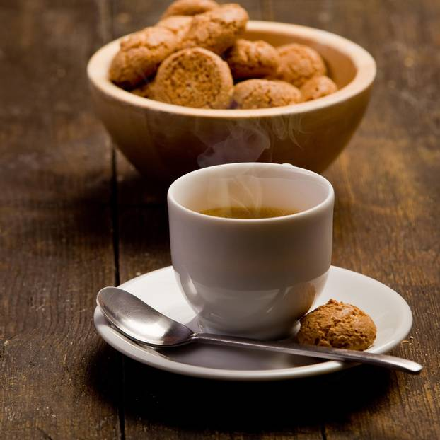 Kaffee-Plätzchen