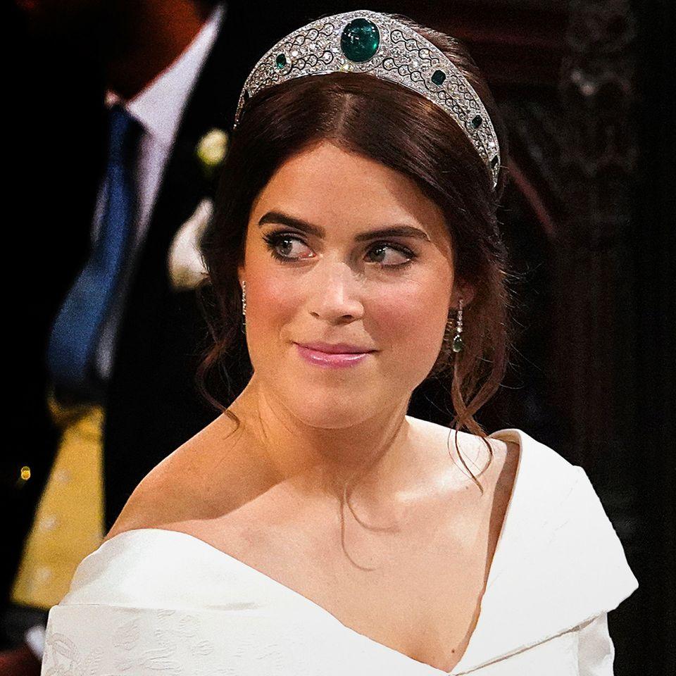 Prinzessin Eugenie: So schön sah sie am Tag ihrer Hochzeit aus