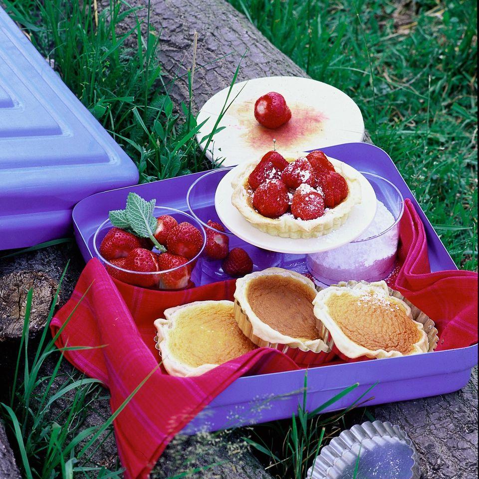 Erdbeer-Eierlikör-Torteletts