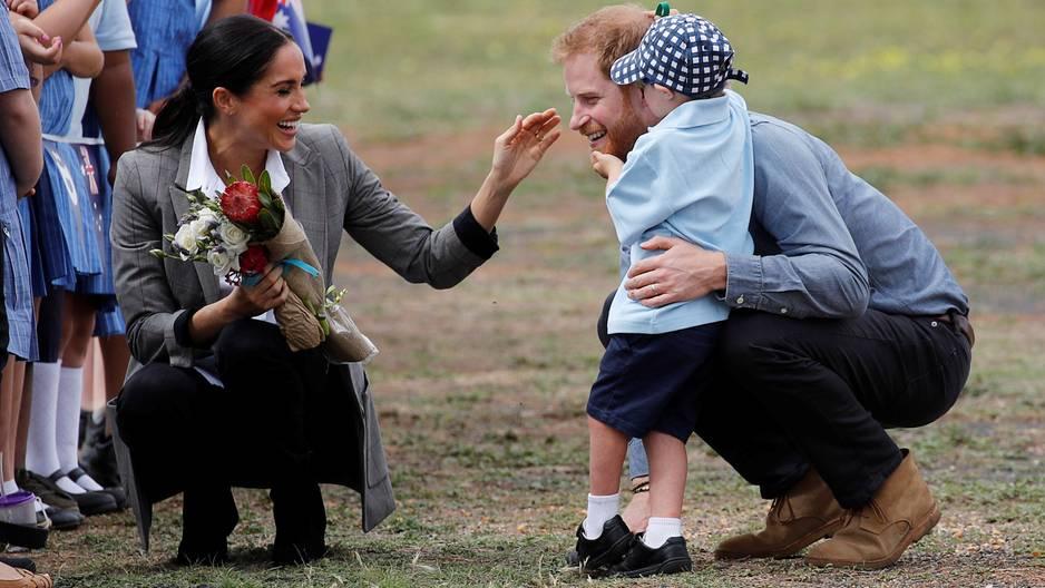 Harry & Meghan: Dieser kleine Fan bringt unsere Herzen zum Schmelzen