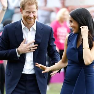 Prinz Harry mit Herzogin Meghan in Australien