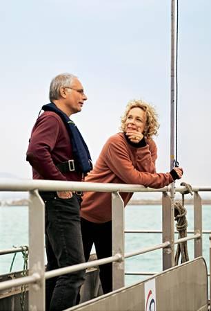 Plastikmüll: Katja Riemann und Dr. Rüdiger Stöhr