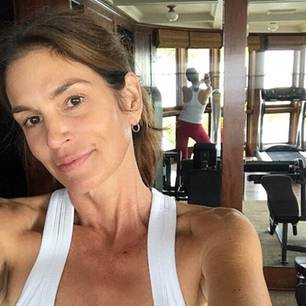 Stars ohne Make-up: Cindy Crawford