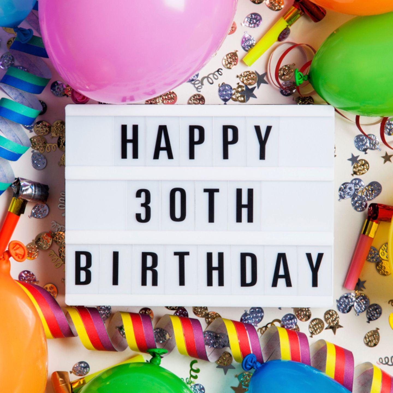 Geschenke Zum 30 Geburtstag Mit Diesen Ideen Liegst Du Goldrichtig Brigitte De