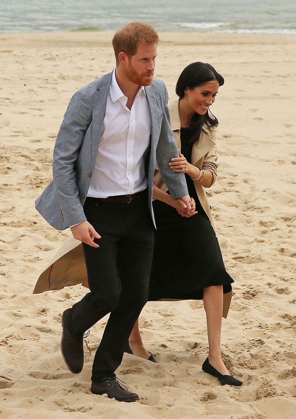 Prinz Harry und Herzogin Meghan in Australien