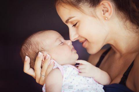 Neues Teilzeit-Gesetz: Mutter mit Baby