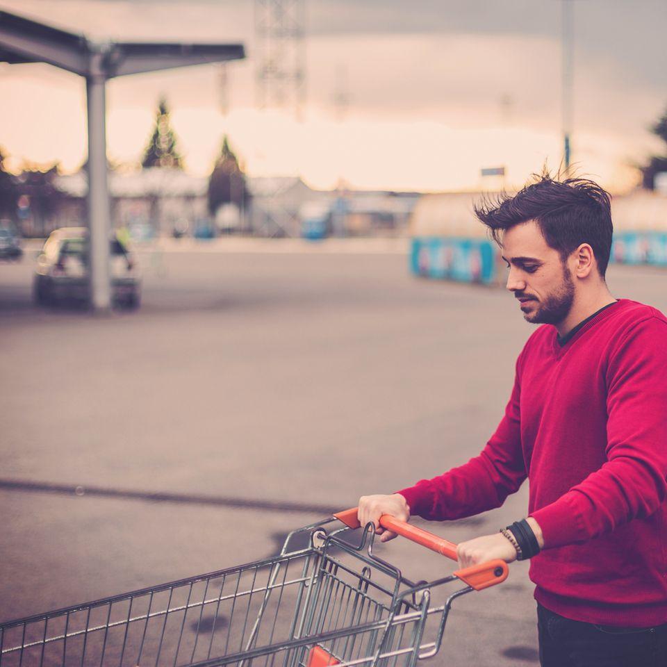 Hilfe, mein Mann geht einkaufen