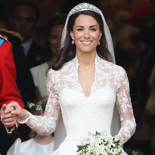 Kates Hochzeitskleid: Kate Middelton bei ihrer Hochzeit