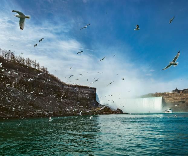 Radreise durch Kanada: Niagara Falls