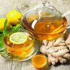 Abnehmen mit Ingwer: Ingwertee mit Zitrone