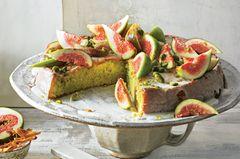 Biskuit-Feigen-Kuchen