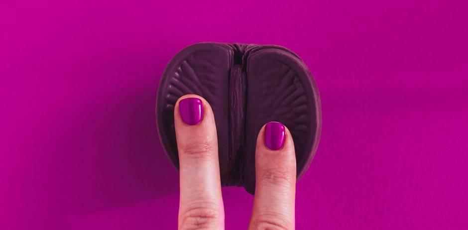 Vulva kommt - Vagina ist out: Finger auf Apfelsine