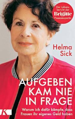 """Helma Sick: """"Die beste Investition meines Lebens war die Therapie"""""""
